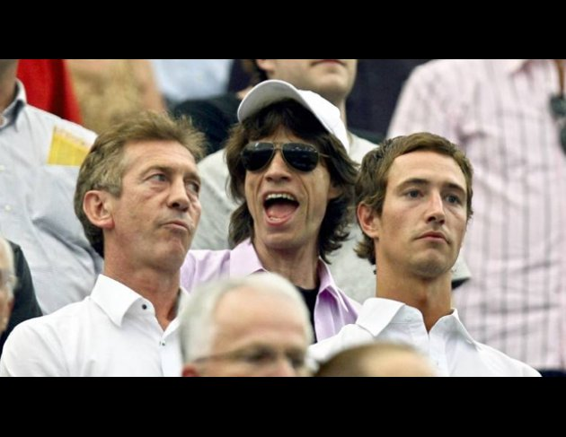 Angry old man: Ditmar Jakobs ist genervt von Mick Jagger.