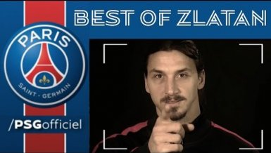 PSG ehrt Zlatan mit einem Best Of-Video »Behind the scenes«