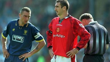 Retro-Fund: Als Vinnie Jones einmal Eric Cantona umnietete