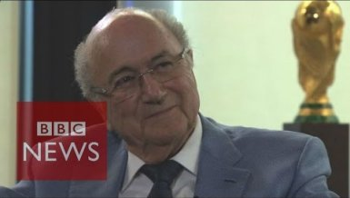 Sepp Blatter im BBC-Interview