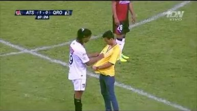 Ronaldinho in Mexiko
