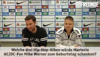 Marteria trifft Mike Werner