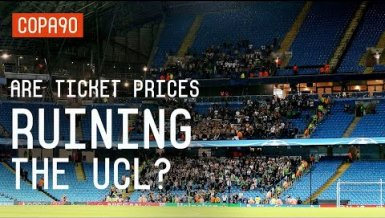 Ruinieren die Ticketpreise die Champions League