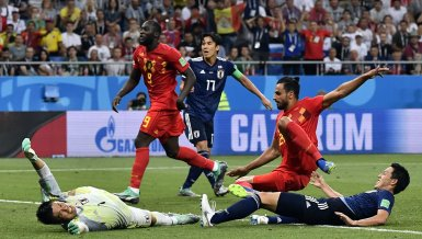 Im Liveticker: Belgien-Japan