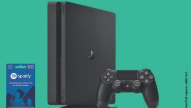 Verlosung: PlayStation 4 + Spotify