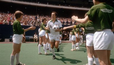 Franz Beckenbauer in New York
