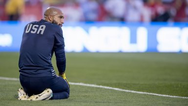 Tim Howard, Weltklassetorwart mit Tourette-Syndrom