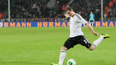 Marcell Jansen in der Nationalmannschaft