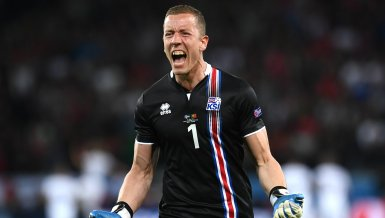 Islands Keeper Hannes Halldorsson im Interview