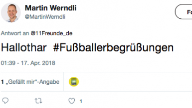 So begrüßt man sich im Fußball