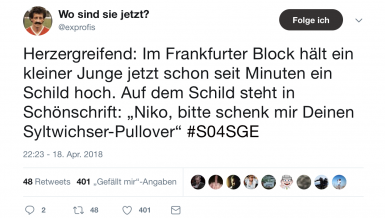 Die besten Netzreaktionen zu Frankfurts Finaleinzug