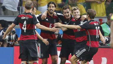 Best of Ticker: Deutschland - Brasilien 7:1