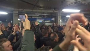 Ajax-Party auf Schalke
