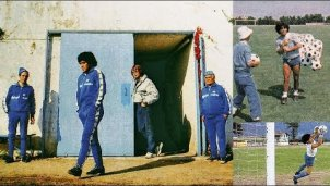 Training mit Maradona