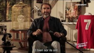 Eric Cantona singt »Will Grigg's on fire«