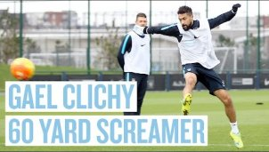 Gael Clichy Supertor im Training