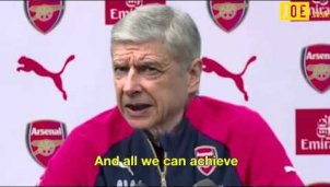 Arsene Wenger singt Johnny Cashs »Hurt«