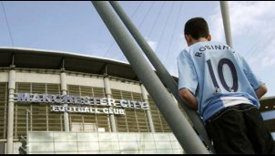 Manchester-City-Fan Ric Turner