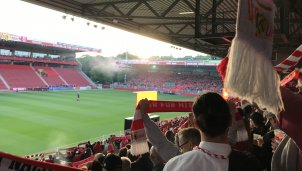 So war das Public Viewing bei Union Berlin
