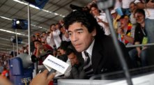 Diego Maradona im Interview