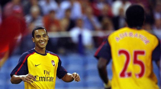 Arsenals Sturmhoffnung Theo Walcott