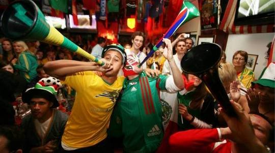 Kapstadts Party abseits der Fifa-Fanmeile