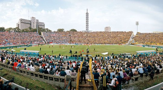Das Estadio Centenario in Montevideo