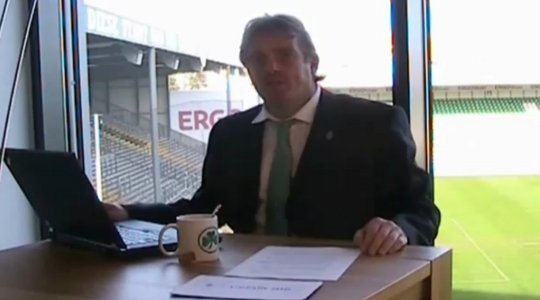 Mein Highlight 2011: Büskens parodiert Magath